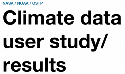 climate data user study