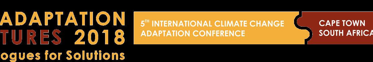 Adaptation Futures 2018 banner